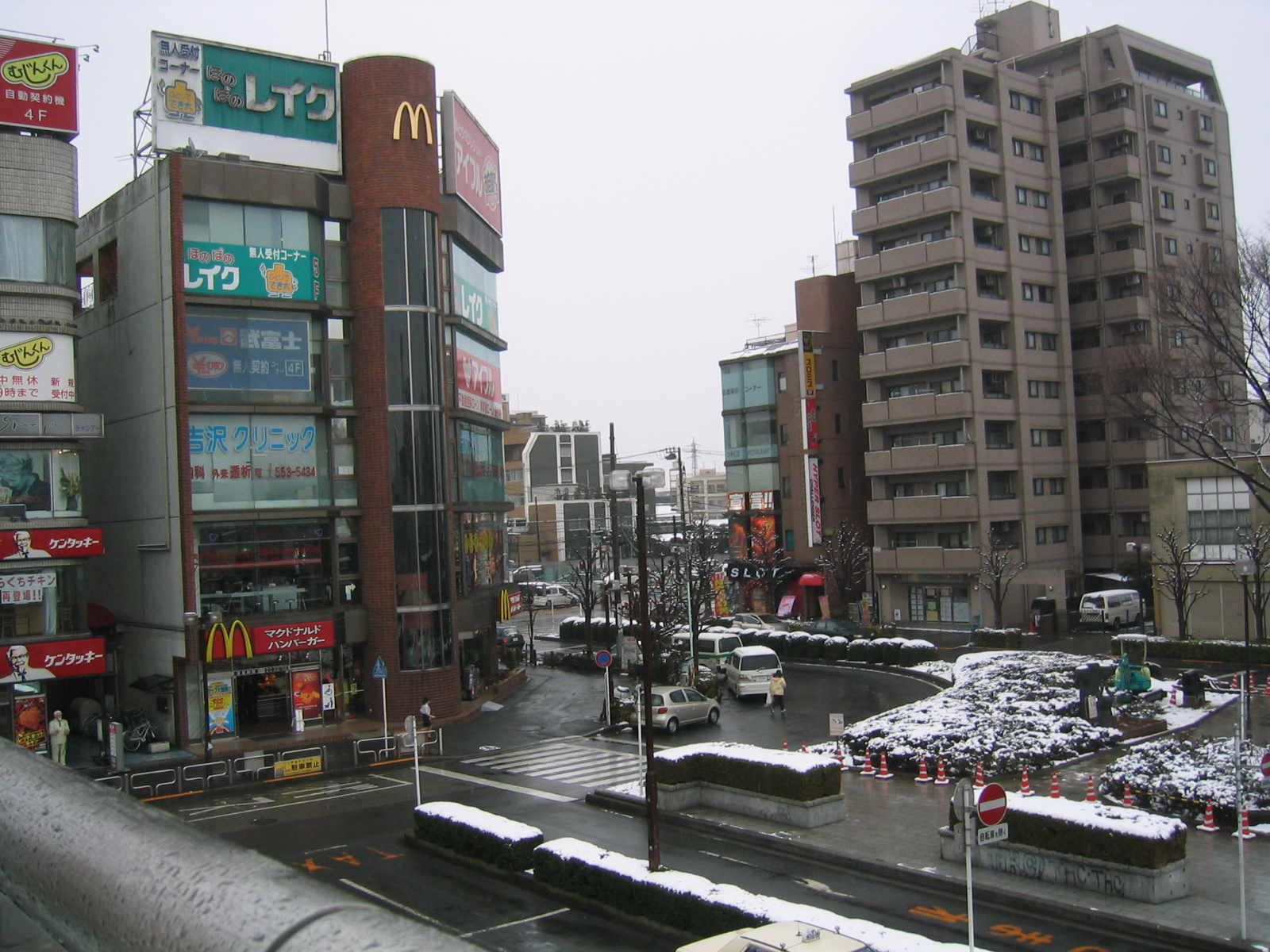 Fussa near station