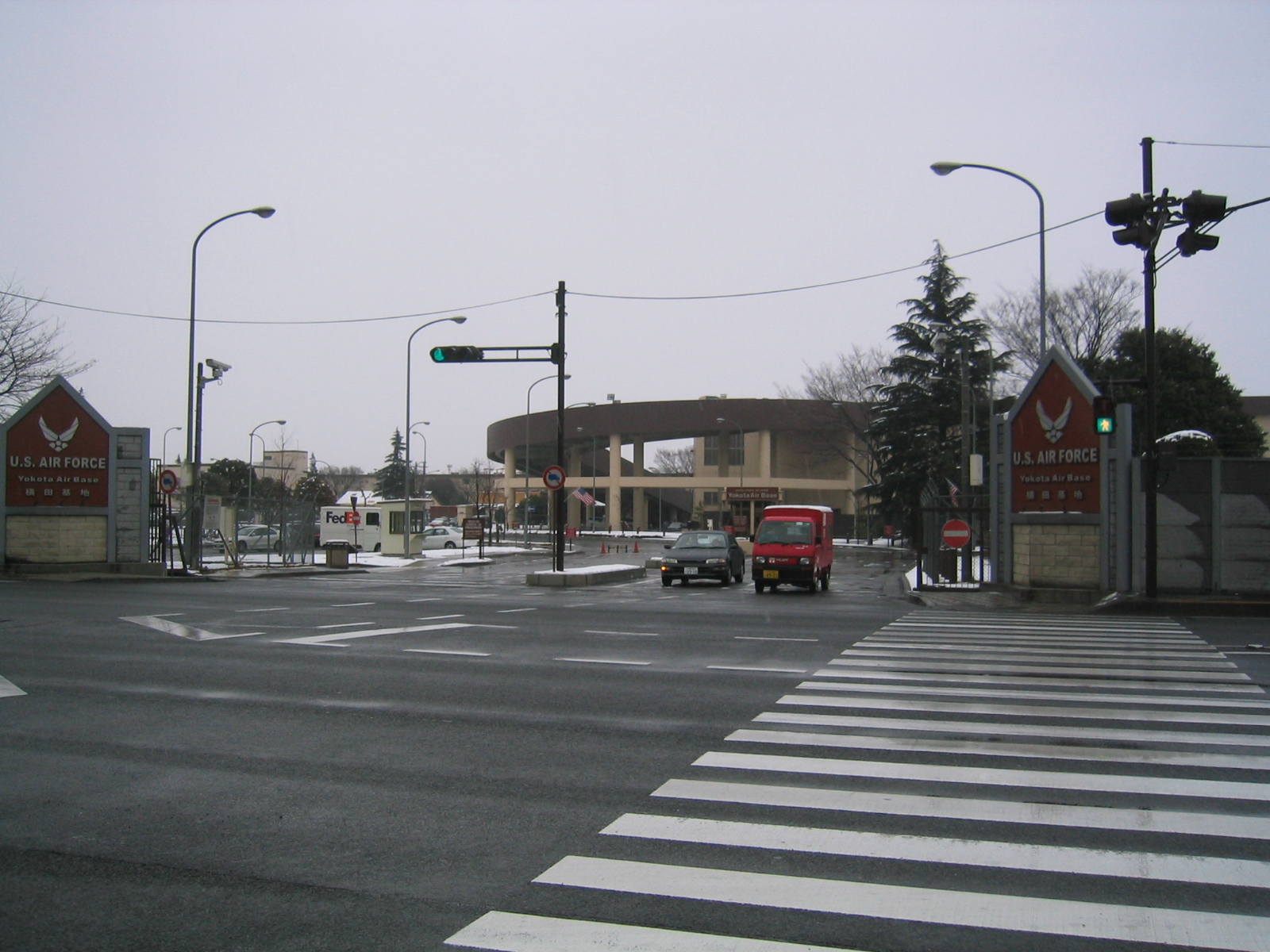 Yokota AB 2005 Main Gate